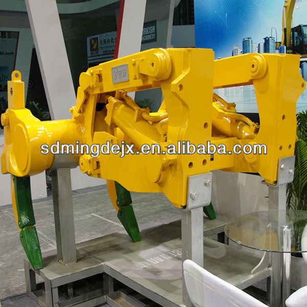 Three shank ripper assembly for Komatsu D65 EX-15 dozer