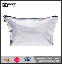 BSCI AUDITED china manufacture promotional cheap shiny pvc cosmetic make up bag