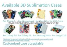 OEM service,great quality,3D Sublimation Polymer Case, MT-IP4-3D wholesale cheap 3d cute case for iphone 4 4s