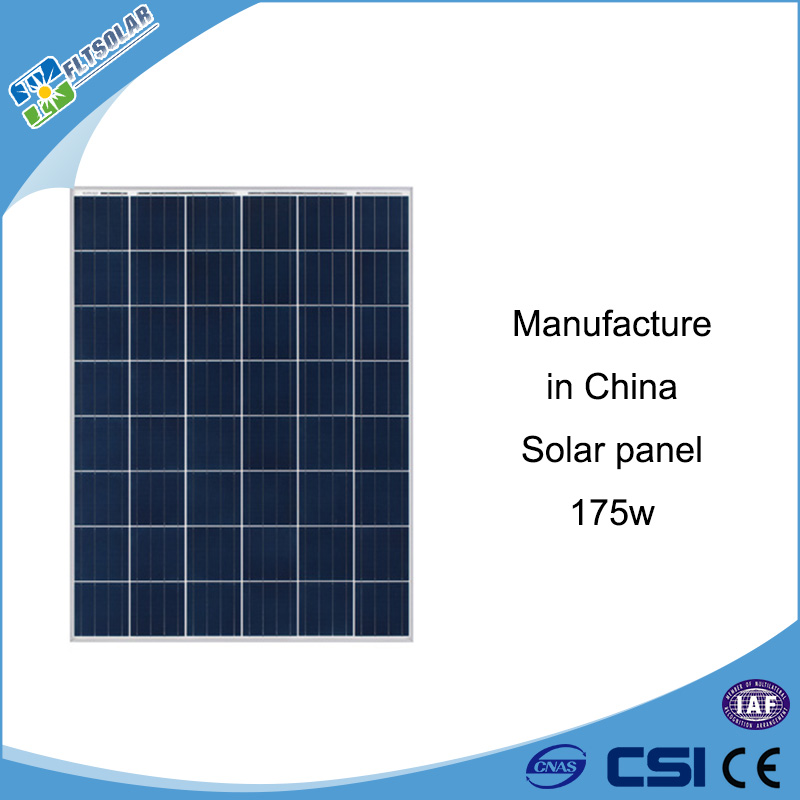 Best sale 175w Polycrystalline silicon solar panel components Manufacturers in China