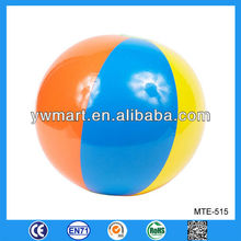 PVC colorful inflatable beach ball, colorful beach ball inflatable