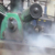 Heavy Oil Dirty Air Compressor Steam Cleaning