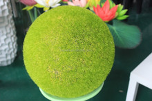 decorative artificial flocking ball for indoor landscaping