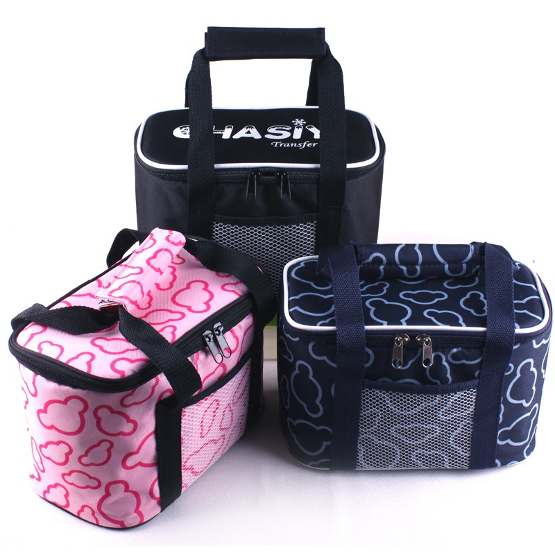 Custom freezable insulated soft car fitness cool carry bicycle cooler lunch bag