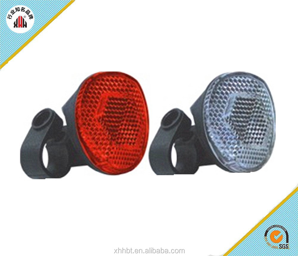 XH-B96 OEM & ODM bicycle reflector in any color in Chinabicycle spoke reflector/ red plastic reflectors for bike accessories