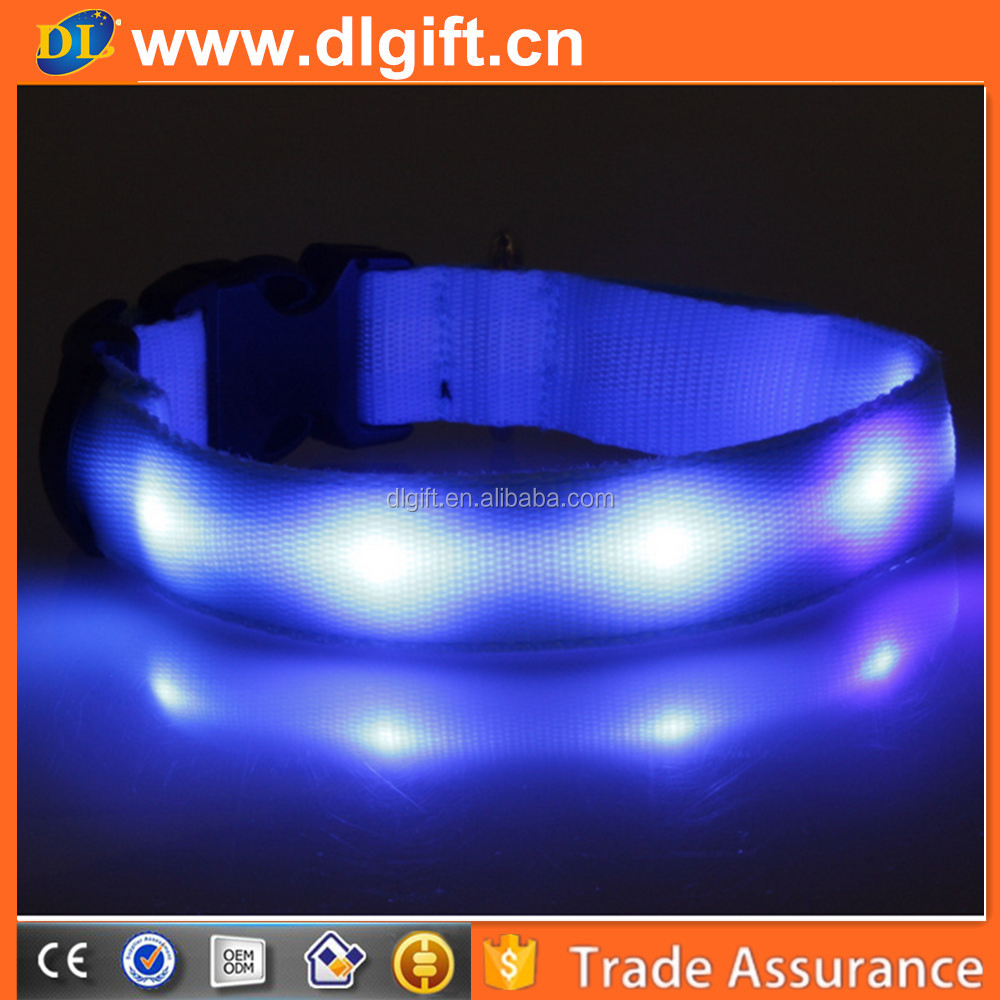 Sponsored Listing Contact Supplier Chat Now! 2015 hot selling safe good quality nylon led flashing dog collar,dog collar led,d