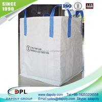 Shandong manufacturer 1 ton pp big bag/bulk bag/jumbo bag for firewood