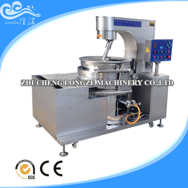 New Attractive Full automatic food processing machinery popcorn machine