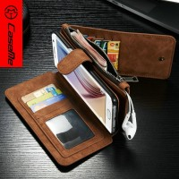 "Premium wallet leather phone case 5"" inch leather case for samsung s7 edge"