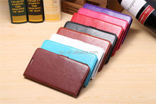High Quality Pu Leather Wallet Case For LG G Pro2