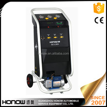 HO-L180A Manual Car AC refrigerant recycling vacuum recharge machine factory price