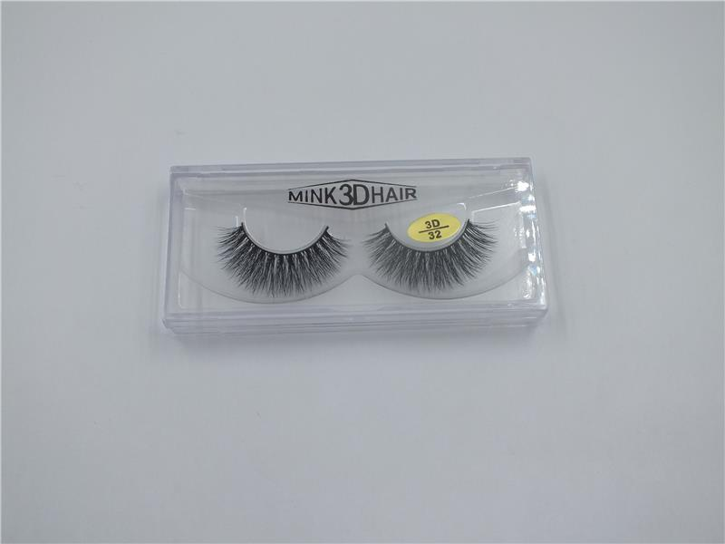 Professional high quality false eyelashes / artificial mink eye with low price