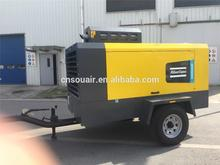 price of air compressor AtlasCopco portabl Compressor XAXS600C XRHS666C 17BAR 20BAR with Cummin engine low price hot in china