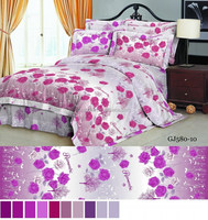 100% polyester 3d fabric/ bedsheet with brushed two sides very soft for bedsheet made in china fabric manufacturer