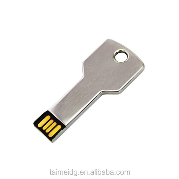 Key shape usb flash drive, metal key usb, promotional gift usb key