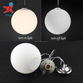 mouth blown opal acid frosted glass globe light cover