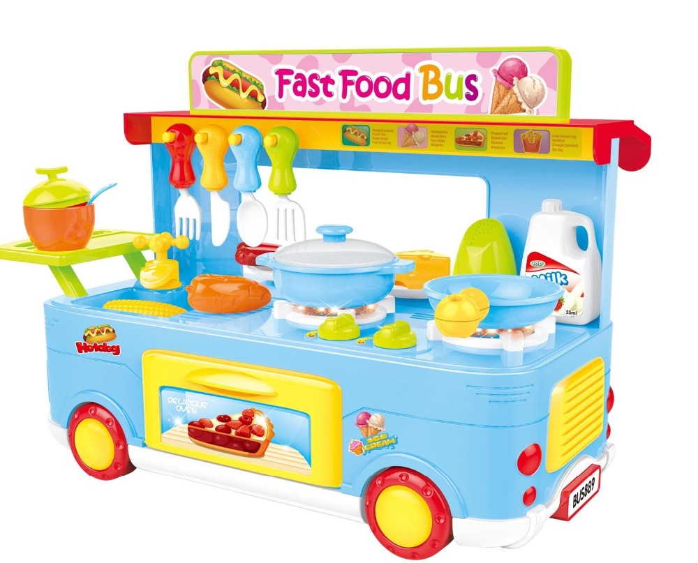 Cooking Games Kids Toy Kitchen Play Set Toys For Girls - Buy Play ...