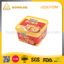 2017 hot sell LFGB,FDA,CIQ,CE / EU,SGS Certification design plastic food packaging box for candy