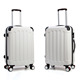 hard shell trolley case multi-color luggage travel ABS suitcase factory