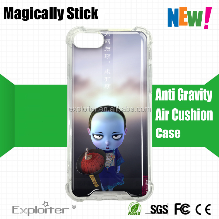 New arrivals Shenzhen 360 degree two sides full body protective cell phone case clear crystal soft tpu for iphone 7