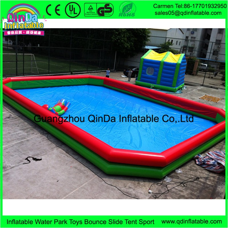 Low Price Water Park Construction Inflatable Swimming Pool For Adults Play Water Toys Buy