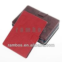 Folio Cover Stand Case Magnetic Book Stand Leather Case for iPad Air with Card Slots