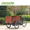 three wheel cargo bicycles for freely moving in street