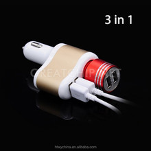 Smart uk mobile car charger, car phone charger, car mobile charger for Cigarette lighter