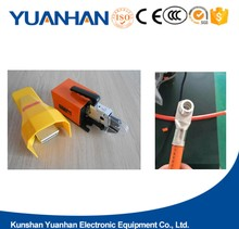 Pneumatic Powered Electrical Terminal Cable crimp and pneumatic crimping tool