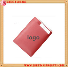 Custom pu leather promotion pad case