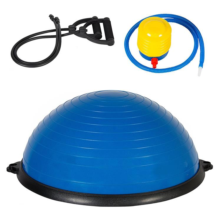 Pilates balance ball chair