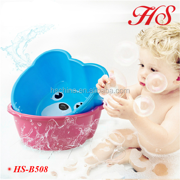 PP plastic baby hand wash basin/ hair foot washbasin