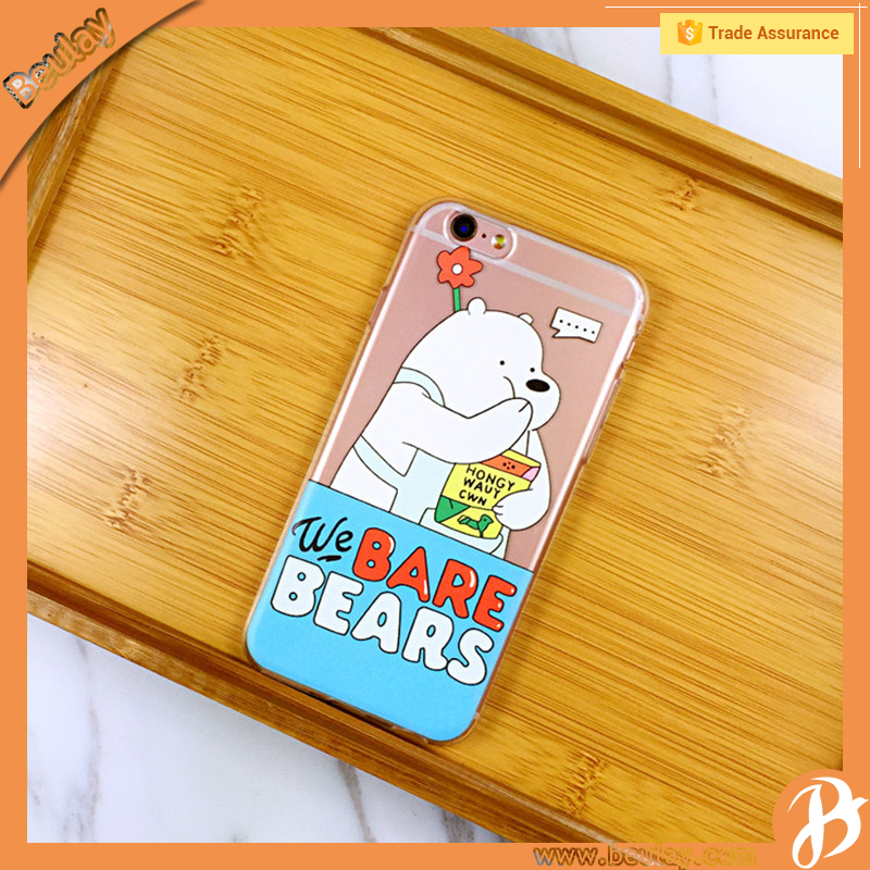Cartoon Shenzhen Shi Cell Phone Protective Cover Cases For Iphone7 Plus