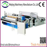 Full Automatic Toilet Roll Tissue Paper Converting Machine
