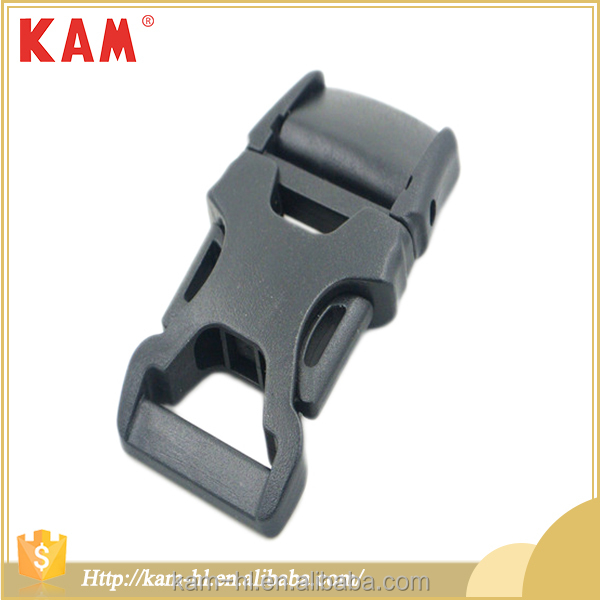 Safety custom adjustable nylon strap side release plastic buckles