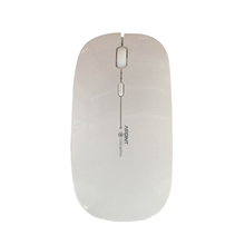 Manufacturer OEM logo custom good quality 2.4g thin slim 4 buttons rechargeable wireless mouse