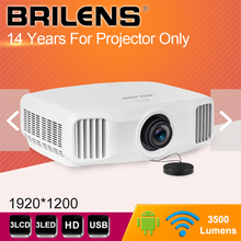 High brightness 3500 lumens ultra short throw interactive proyector 4k