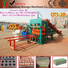 Concrete hollow block making machinery exported to Kenya ,concrete block making machine have office in Africa