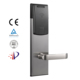 Mechanical combination mf card keyless glass door lock for hotel
