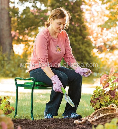 Foldable Garden Kneeler and Seat with tool bag