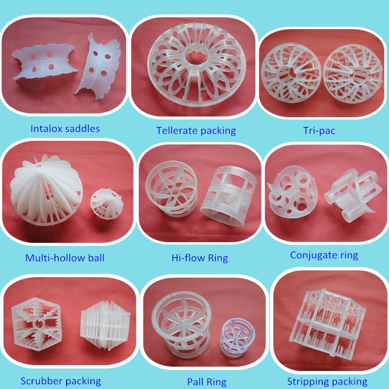 Plastic Random Packing Saddle Type Packing Plastic Saddle Packing