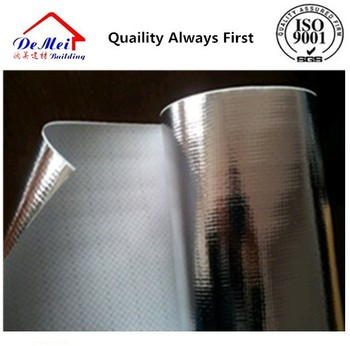woven cloth adhesive aluminum foil with fire retardant coating FR/Insulation materials