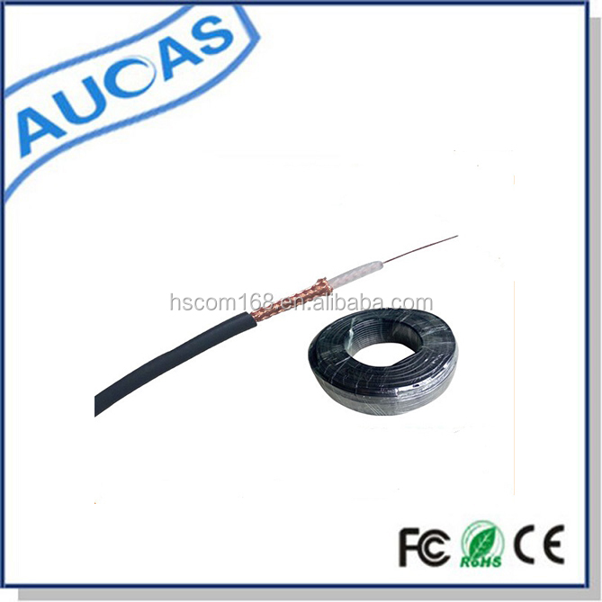 CCTV CATV satellite coaxial cable /75ohm outdoor shielded coaixal cable/rg6 rg59 coaxial cable