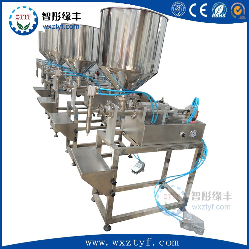 small glass bottle filling machine