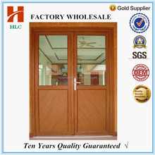 toughened glass aluminum half french door