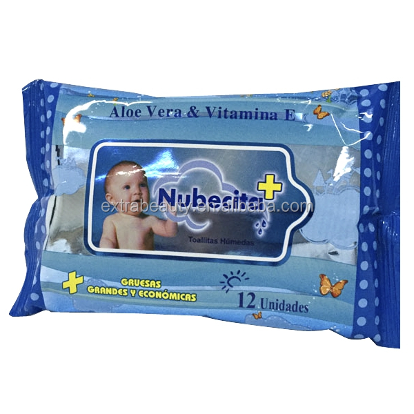 disposable Alcohol Free baby Wipes Non Allergenic Wet Tissue