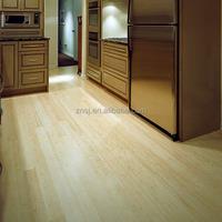 Natural color horizontal pressed bamboo flooring