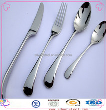 high qulity airline 18/10 stainless steel cutlery set
