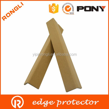L V shape kraft paper edge corner protector for packaging QINGDAO PAPER