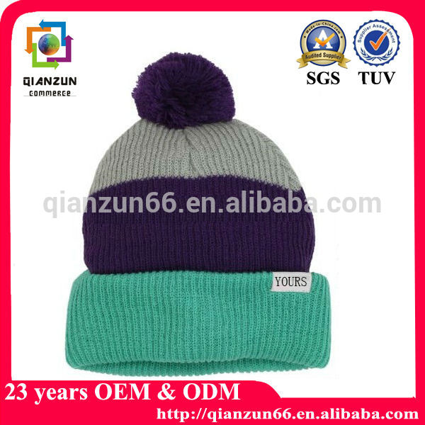 High Quality Beanie Fluorescent Green Beanie Maker